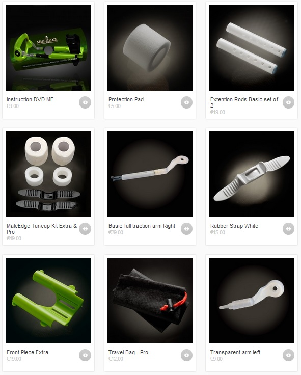 Get maleedge accessories and spare parts