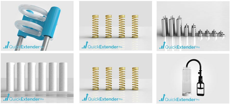 quick extender pro accessories and spare parts