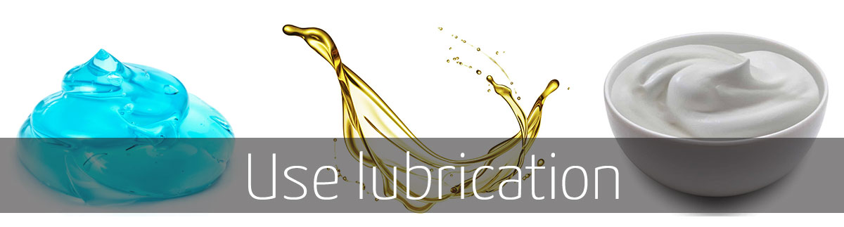 lubrication prevents penis dryness