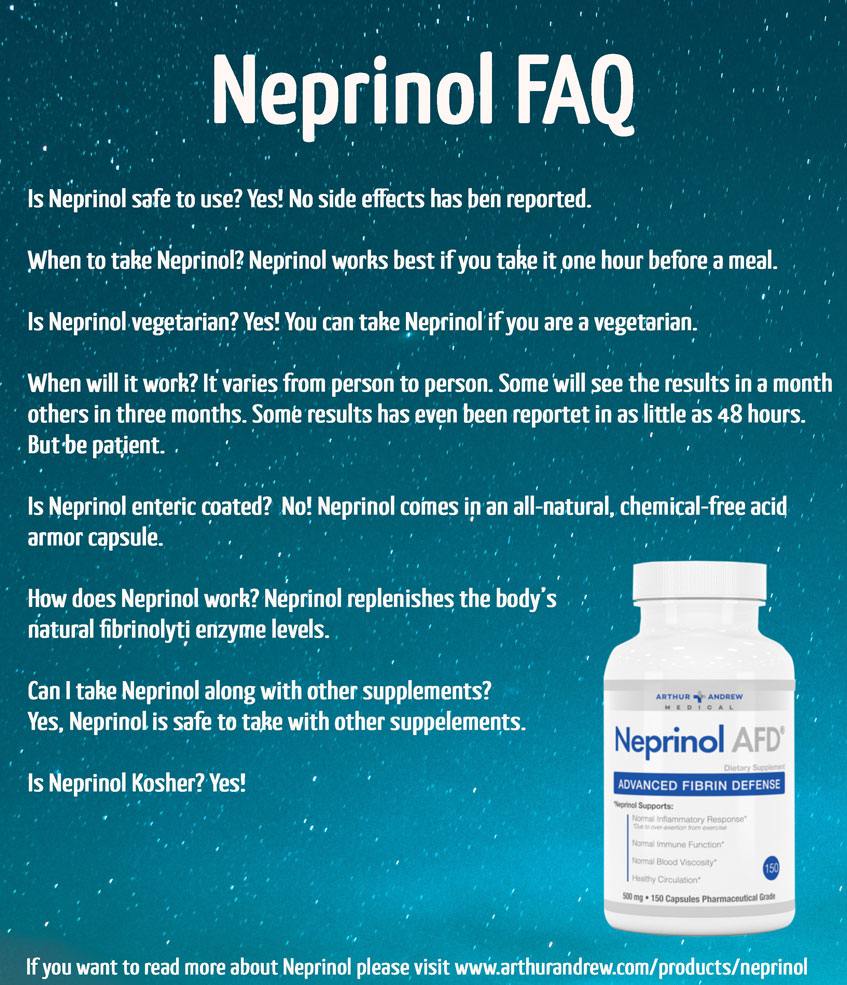 Neprinol FAQ