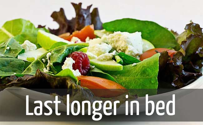 Eat healthy boost testosterone level and last longer in bed